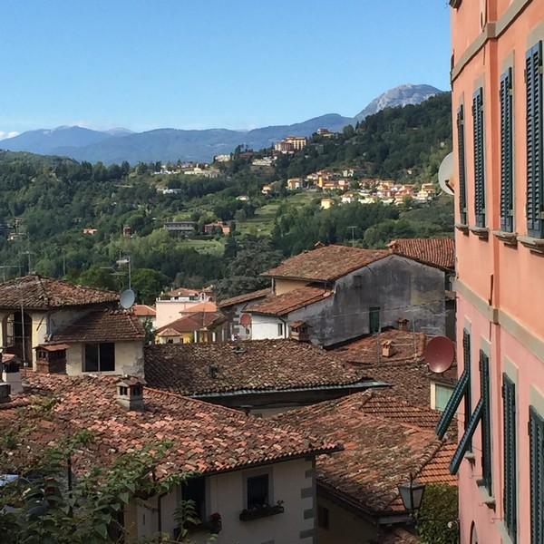 Barga view to Albiano